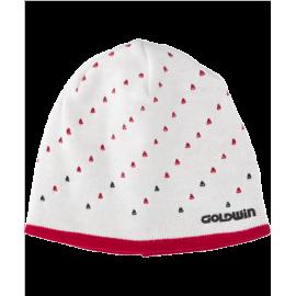 Шапка GOLDWIN Ladies beanie white/red