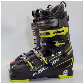 Горнолыжные ботинки FISCHER  PROGRESSOR X 11 VACUUM CF - BLACK/BLACK TR