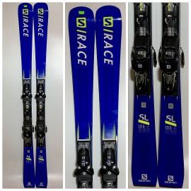 Лыжи горные Salomon S/Race Rush SL+X12TL 2018-19