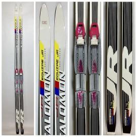 Беговые лыжи Salomon Equipe Junior Classic