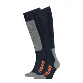 горнолыжные носки head ski red/grey/blue