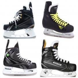 Коньки хоккейные детские б/у. До 39 размера